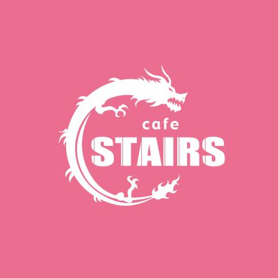 cafe STAIRS logo